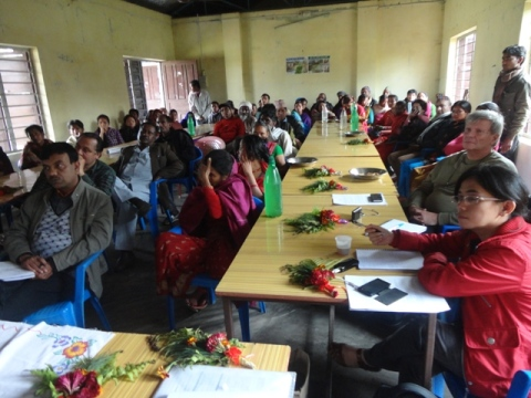 Discussion with DLRF Nawalparasi District