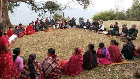 Discussion with Pipalbot VLRF of Rasuwa District