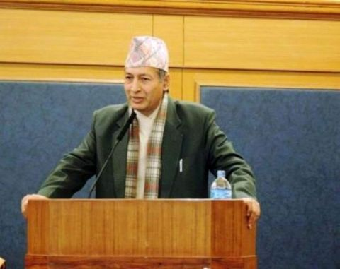 Honorable Dr. Yuwaraj Khatiwada, Governor of Central Bank of Nepal