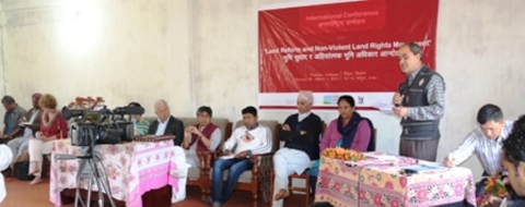 International Conference on 'Land Reform and Non- Violent Land Rights Movement