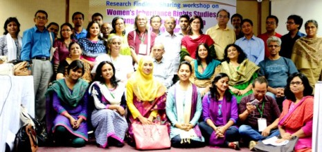 Participants at workshop on women's inheritance rights