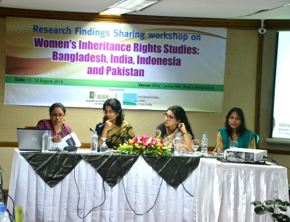 Experts on women's inheritance rights share the findings of their research.