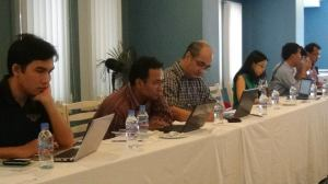 Participants of the Land Watch Asia Planning Meeting