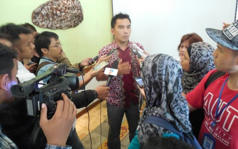 Mr. Iwan Nurdin of the Consortium for Agrarian Reform (KPA). Photo by KPA.
