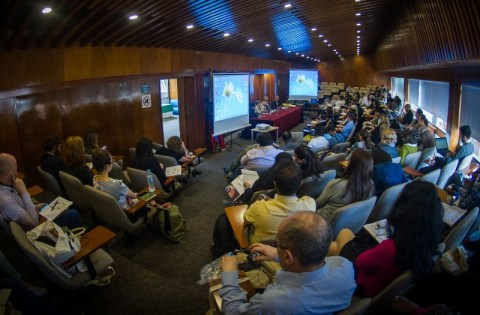 CSO leaders at the ICSW 2016. Photo by Juan Santacruz. Retrieved from civiscus.org.
