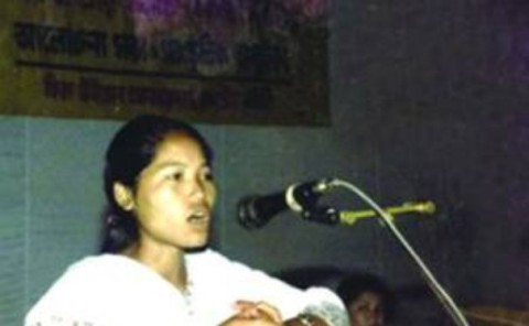 Kalpana Chakma. Photo retrieved from www.thedailystar.net