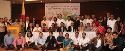 Participants of the Asia Land Forum.